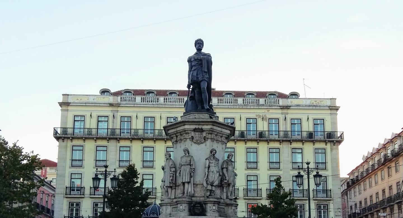 Praça Luís de Camões, Lisbona